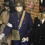 mannequin-man performming as a Museum Dummy: Where fire history comes to life, literally! for Essex Fire Museum on 02/08/2017