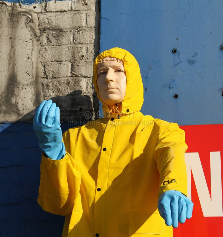 The American Car Wash Company's Mechanical Mannequin - American Car Wash Mechanical Mannequin