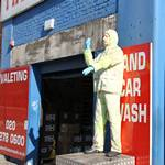 The American Car Wash Company's Waving Mannequin Returns