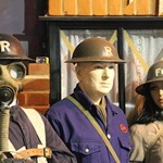 ARP Warden Uniform Exhibit At The Essex Fire Museum