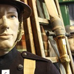 mannequin-man performming as a Museum Dummy: The Essex Fire Museum, Where fire history comes to life, literally! for Essex Fire Museum on 02/08/2017