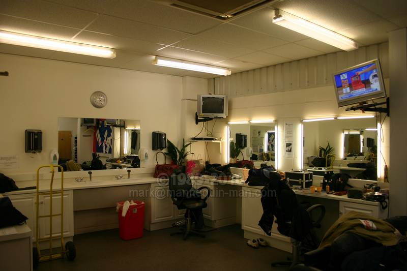 The Dressing Room Before