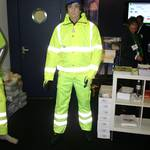 mannequin-man performming as a Living Mannequin: Bunzl Greenham Health and Safety Scotland 11 for Bunzl Greenham on 05/09/2011