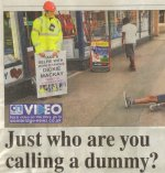 Just who are you calling a dummy - Cambridge News, Sept 2 2014