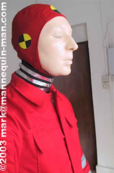 crash test course photoshoot mannequin the living mannequin human statue and dummy. Black Bedroom Furniture Sets. Home Design Ideas