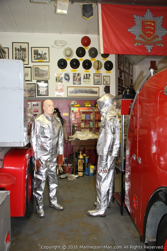 Fire proximity suits first appeared during the 1930s, and were originally made of asbestos fabric (hence also known as the asbestos suit).