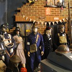 mannequin-man performming as a Museum Dummy: Where fire history comes to life, literally! for Essex Fire Museum on 01/06/2017