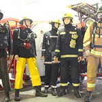 mannequin-man performming as a Museum Dummy: The Essex Fire Museum, Where fire history comes alive, literally! for Essex Fire Museum on 02/08/2017