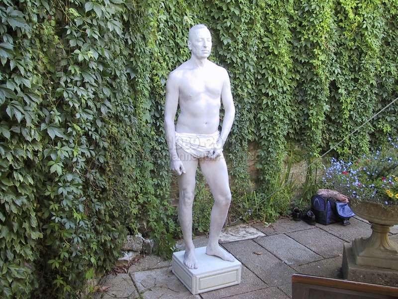 ... Human Statue As Greek Garden Statue At Wedding Eastwell  Manor,Ashford,Kent. Human