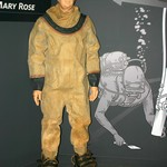 Spent the day at the Mary Rose Museum for the FESTIVAL OF ARCHAEOLOGY with the Dive Museum Gosport