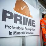 mannequin-man performming as a Living and Real Mannequin: This was for the official launch of PRIME by the Institute of Quarrying at Hillhead Buxton for Institute of Quarrying on 24/06/2014