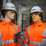This was for the official launch of PRIME by the Institute of Quarrying at Hillhead Buxton, mannequins were Orange Hi-vis Prime Coveralls