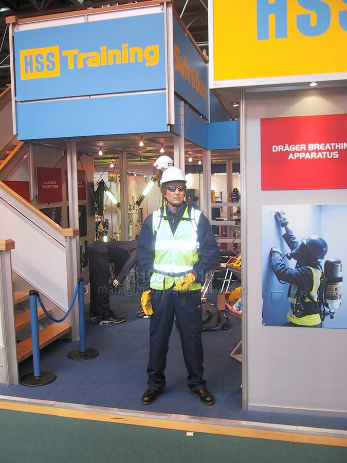 Exhibition Stand Health And Safety : Safety health expo hss training mannequin man