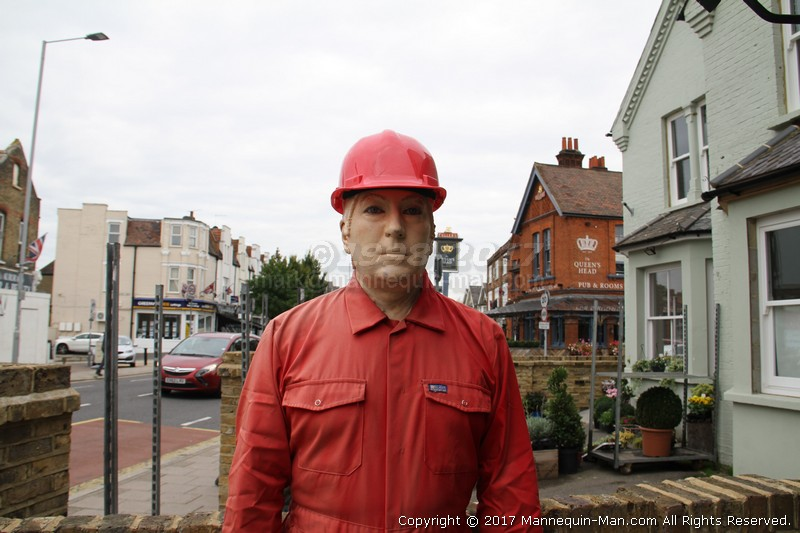 Living mannequin for a day in Kingston-upon-Thames