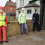 mannequin-man performming as a Living Mannequin: Living mannequin for a day in Kingston-upon-Thames