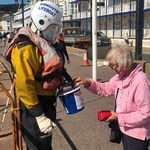 Reprised the role of Sid the Sidmouth mannequin over the August Bank Holiday Weekend to help collect for Sidmouth's independent lifeboat