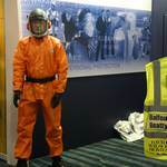 Standing on the Bunzl Greenham at Health and Safety North 2011