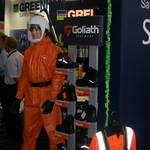 mannequin-man performming as a Living Mannequin: Bunzl Greenham - Health and Safety North 11 for Bunzl Greenham on 05/10/2011