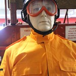 Mannequin man as a new USAR Search and Rescue exhibit at the Essex Fire Museum