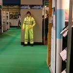 Living Mannequin Safety & Health Expo NEC