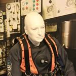 The Dive museum in Gosport played a prank on its visitors over the holiday weekend. They replaced their saturation diving exhibit mannequin with a real person with hilarious results.