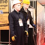Living mannequins hired for Screwfix live event