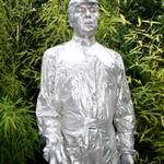 Human Statue Silver Statue for Party Muswell Hill