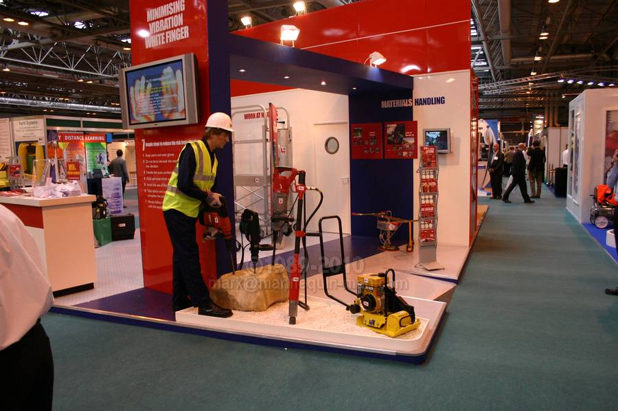 Exhibition Stand Health And Safety : Safety health expo speedy hire mannequin man the