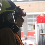mannequin-man performming as a Museum Dummy: Mannequin man as a new USAR Search and Rescue exhibit at the Essex Fire Museum for Essex Fire Museum on 17/06/2017