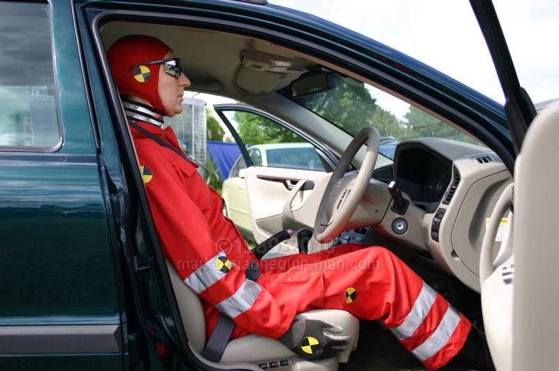 Crash Test Dummy for Hapstead Volvo at Horsham Motor Show 2004