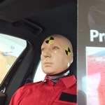 Living Human Crash Test Dummy for Volvo Cars Poole